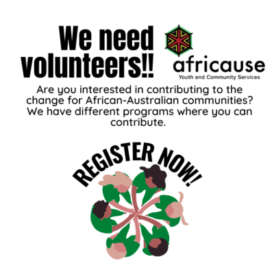 Volunteer with us WHITE